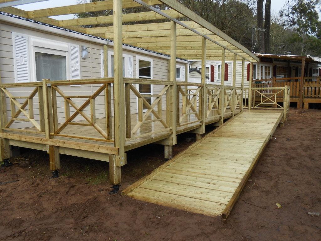 Terrasses modulables